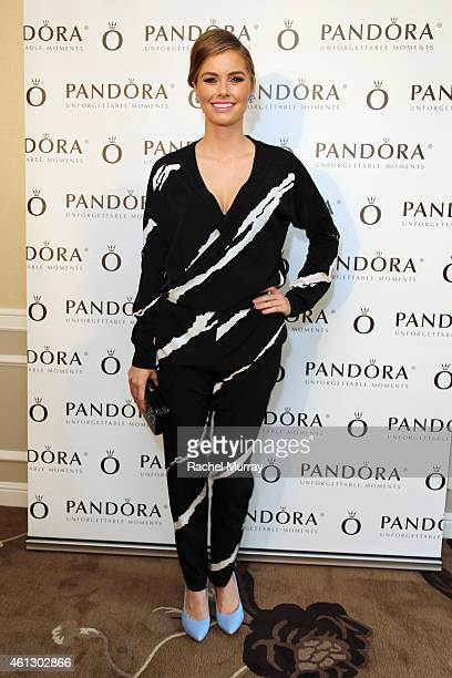 Actress Brianna Brown attends the HBO Luxury Lounge featuring PANDORA Jewelry at Four Seasons Hotel Los Angeles at Beverly Hills on January 10 2015...