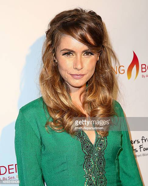 Actress Brianna Brown attends the Legacy Series Launch Party at Sofitel Hotel on November 20 2014 in Los Angeles California