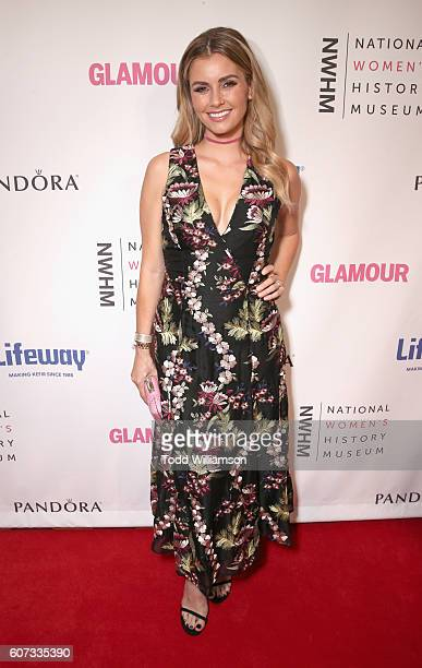 Actress Brianna Brown attends the National Women's History Museum 5th Annual Women Making History Brunch presented by Glamour and Lifeway Foods at...