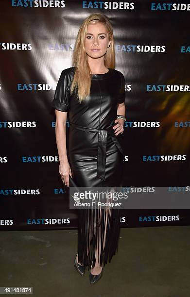 Actress Brianna Brown attends the premiere of Go Team Entertainment's EastSiders season 2 at The Downtown Independent on October 5 2015 in Los...