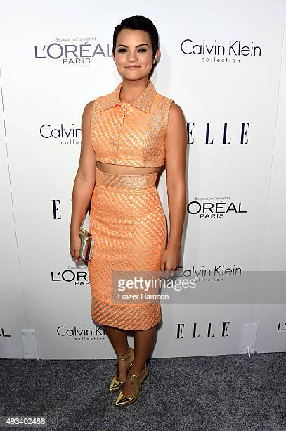 Actress Brianna Hildebrand attends the 22nd Annual ELLE Women in Hollywood Awards presented by Calvin Klein Collection L'Oréal Paris and David Yurman...