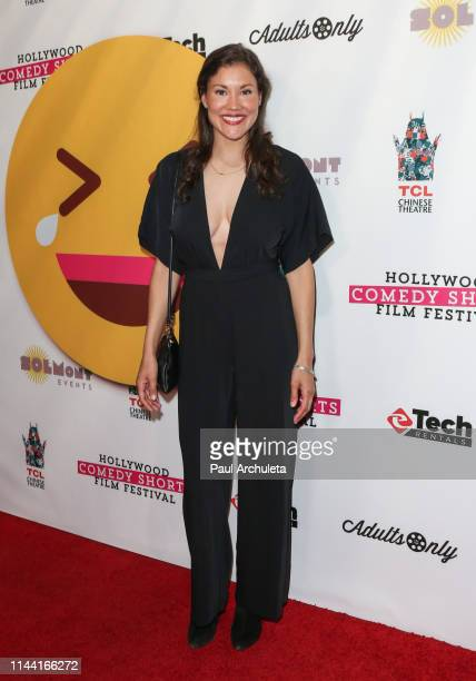 Actress Brianna Lee attends the 2019 Hollywood Comedy Shorts Film Festival at TCL Chinese 6 Theatres on April 20 2019 in Hollywood California