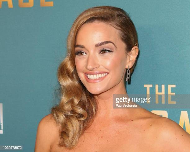 """Actress Brianne Howey attends FOX's """"The Passage"""" premiere party at The Broad Stage on January 10, 2019 in Santa Monica, California."""