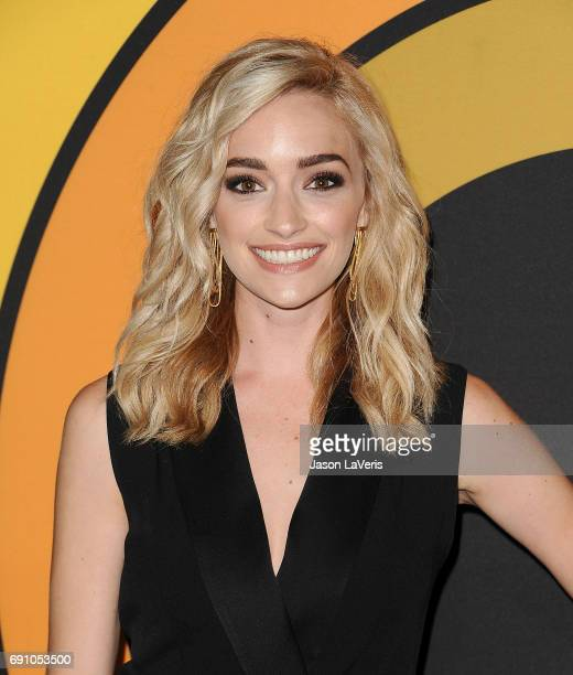"""Actress Brianne Howey attends the premiere of """"I'm Dying Up Here"""" at DGA Theater on May 31, 2017 in Los Angeles, California."""