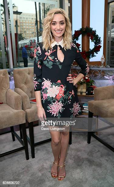Actress Brianne Howey visits Hollywood Today Live at W Hollywood on December 9, 2016 in Hollywood, California.