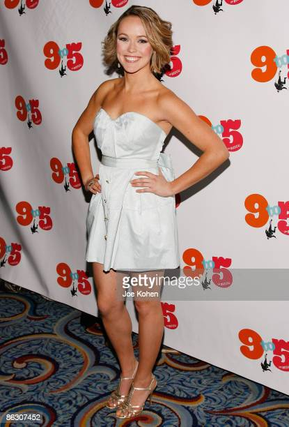 Actress Brianne Moncrief attends the opening of 9 to 5 The Musical on Broadway at the Marriott Marquis Theatre on April 30 2009 in New York City