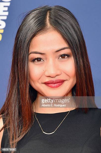 Actress Brianne Tju attends the Nickelodeon Kids' Choice Sports Awards 2015 at UCLA's Pauley Pavilion on July 16, 2015 in Westwood, California.