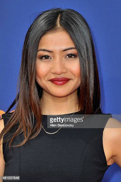 Actress Brianne Tju attends the Nickelodeon Kids' Choice Sports Awards 2015 at UCLA's Pauley Pavilion on July 16 2015 in Westwood California