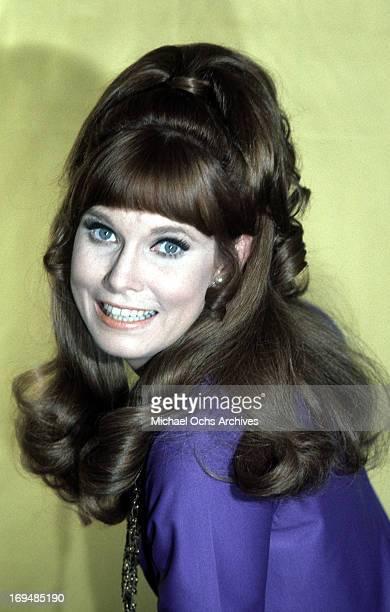 Actress Bridget Hanley poses for a portrait in circa 1969