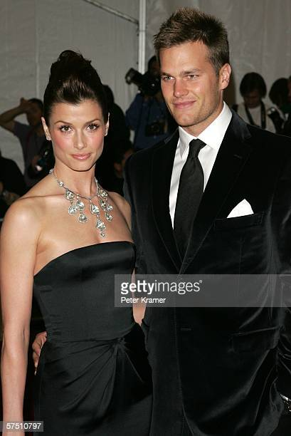 Actress Bridget Moynahan and football player Tom Brady of the New England Patriots attend the Metropolitan Museum of Art Costume Institute Benefit...