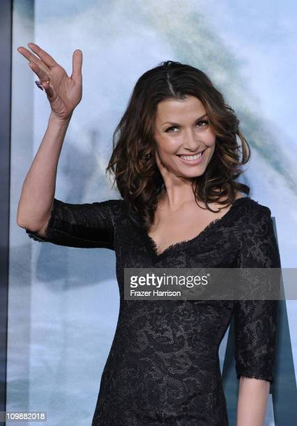 Actress Bridget Moynahan arrives at the premiere of Columbia Pictures' Battle Los Angeles at the Regency Village Theater on March 8 2011 in Westwood...