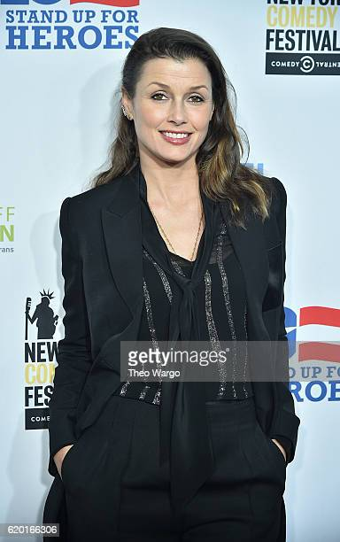 Actress Bridget Moynahan attends 10th Annual Stand Up For Heroes at The Theater at Madison Square Garden on November 1 2016 in New York City