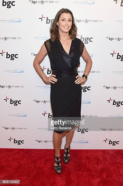 Actress Bridget Moynahan attends Annual Charity Day hosted by Cantor Fitzgerald BGC and GFI at BGC Partners INC on September 12 2016 in New York City