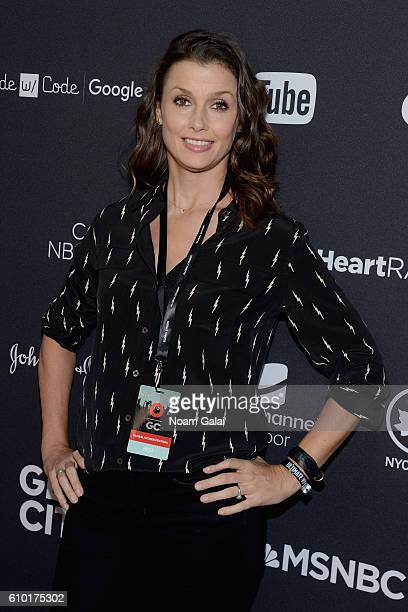 Actress Bridget Moynahan attends the 2016 Global Citizen Festival In Central Park To End Extreme Poverty By 2030 at Central Park on September 24 2016...