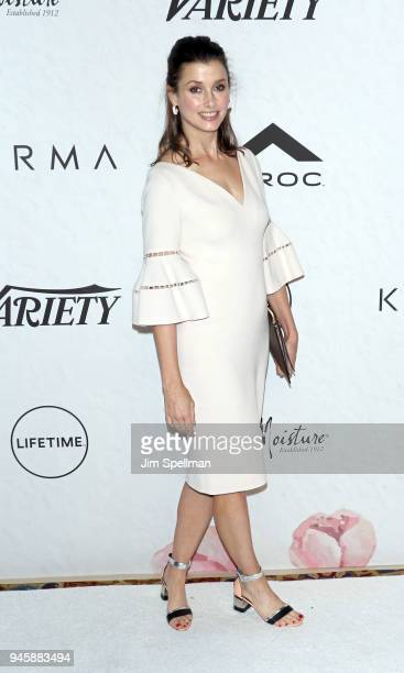 Actress Bridget Moynahan attends the 2018 Variety's Power of Women New York at Cipriani Wall Street on April 13 2018 in New York City
