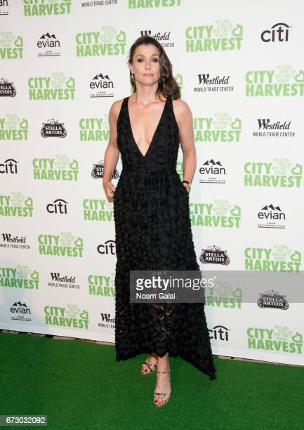 Actress Bridget Moynahan attends the 23rd Annual City Harvest An Evening of Practical Magic Gala at Cipriani 42nd Street on April 25 2017 in New York...