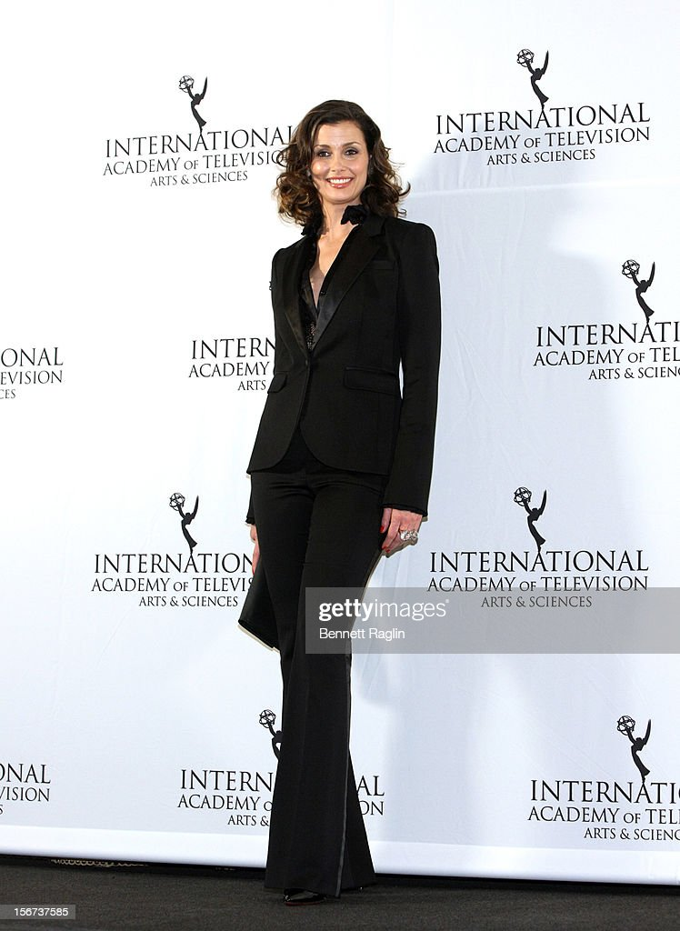 Actress Bridget Moynahan attends the 40th Annual International Emmy Awards at the Hilton New York on November 19, 2012 in New York City.