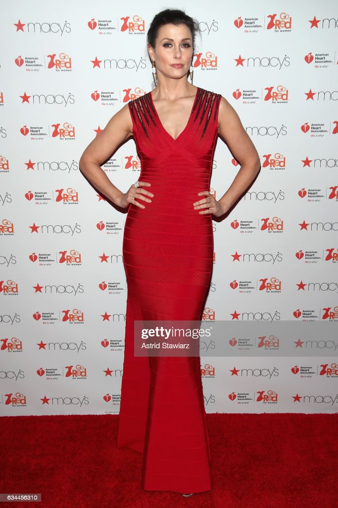 The American Heart Association's Go Red For Women Red Dress Collection 2017 Presented By Macy's at Fashion Week in New York City - Arrivals & Front Row