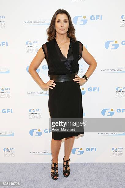 Actress Bridget Moynahan attends the Annual Charity Day hosted by Cantor Fitzgerald BGC and GFI at GFI Securities on September 12 2016 in New York...