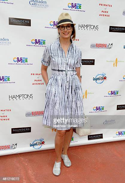 Actress Bridget Moynahan attends the Children's Museum of the East End's 7th Annual Family Fair at Children's Museum of the East End on July 18 2015...