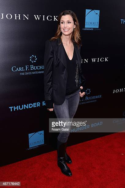 Actress Bridget Moynahan attends the 'John Wick' New York Premiere at Regal Union Square Theatre Stadium 14 on October 13 2014 in New York City