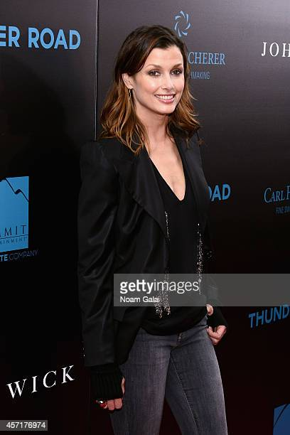 Actress Bridget Moynahan attends the John Wick New York Premiere at Regal Union Square Theatre Stadium 14 on October 13 2014 in New York City