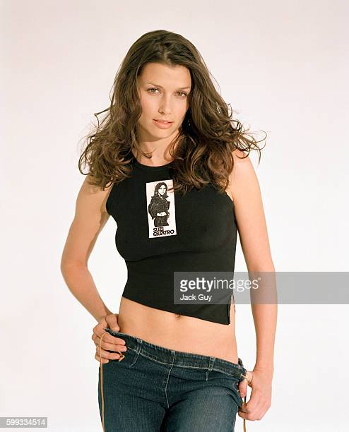 Actress Bridget Moynahan is photographed for Movieline Magazine in 2002 in Los Angeles California