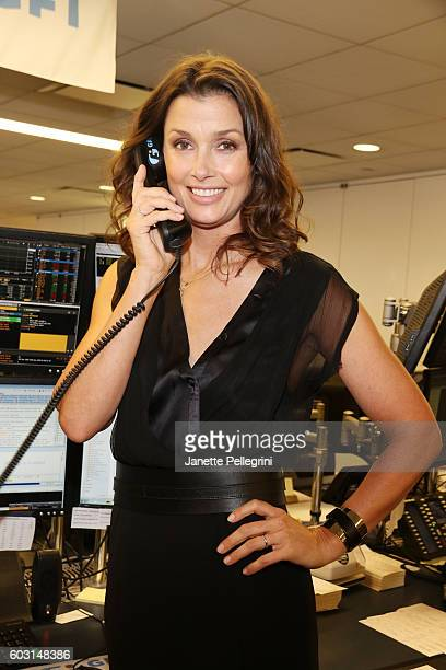 Actress Bridget Moynahan participates in the Annual Charity Day hosted by Cantor Fitzgerald BGC and GFI at GFI Securities on September 12 2016 in New...