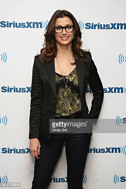 Actress Bridget Moynahan visits the SiriusXM Studios on February 18 2016 in New York City