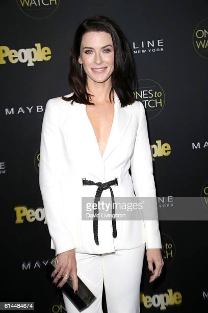 Actress Bridget Regan arrives at People's Ones to Watch at EP LP on October 13 2016 in West Hollywood California
