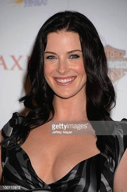 Actress Bridget Regan arrives at the 11th Annual MAXIM HOT 100 Party at Paramount Studios on May 19 2010 in Los Angeles California