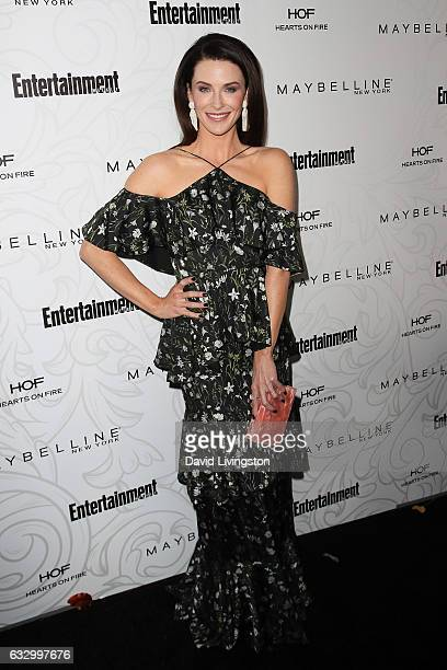 Actress Bridget Regan arrives at the Entertainment Weekly celebration honoring nominees for The Screen Actors Guild Awards at the Chateau Marmont on...