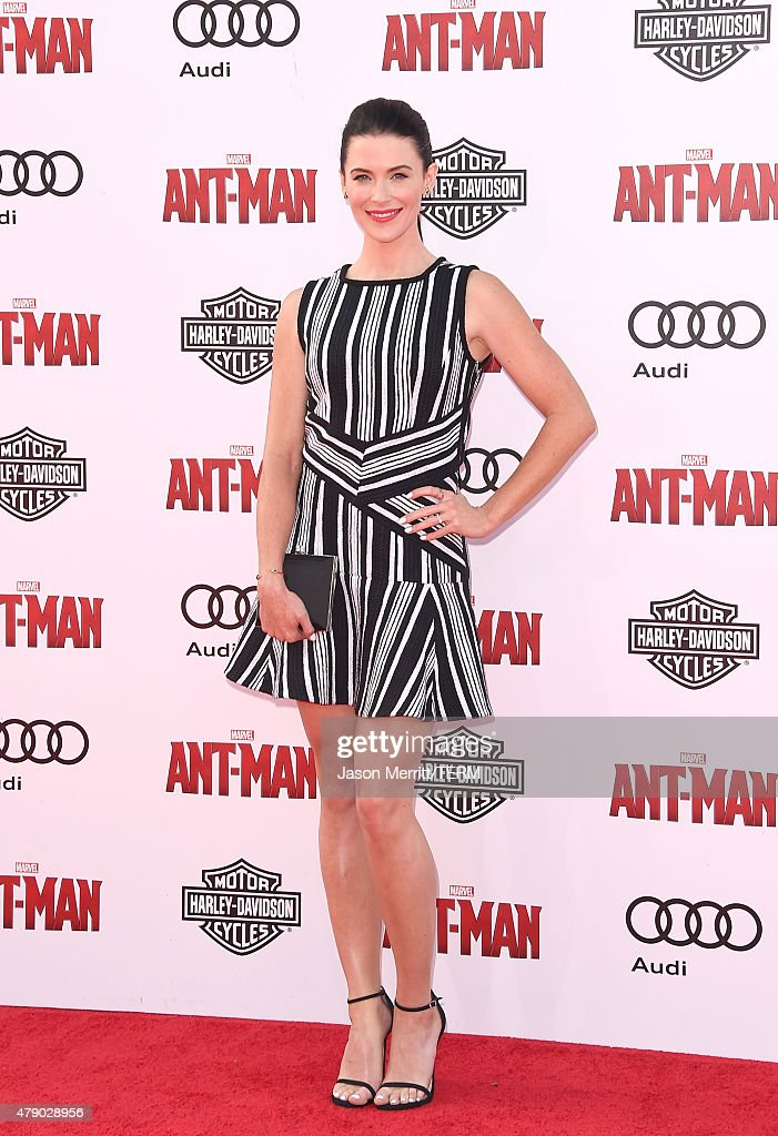 Actress Bridget Regan arrives at the Los Angeles Premiere of Marvel Studios 'Ant-Man' at Dolby Theatre on June 29, 2015 in Hollywood, California.