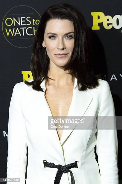 Actress Bridget Regan arrives at the People's Ones To Watch party at EP LP on October 13 2016 in West Hollywood California