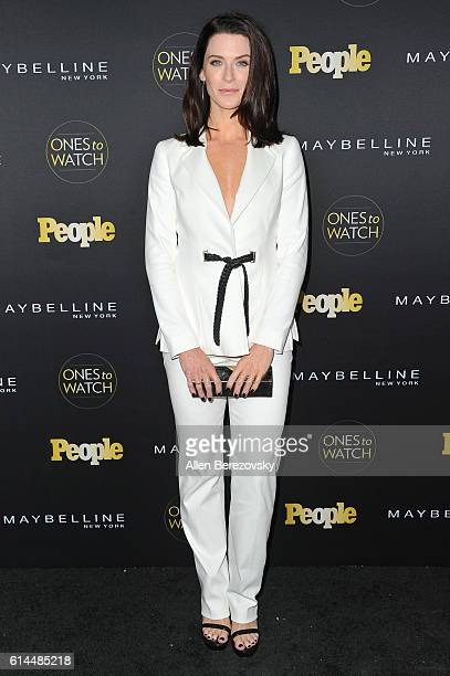 Actress Bridget Regan attends People's Ones To Watch party at EP LP on October 13 2016 in West Hollywood California