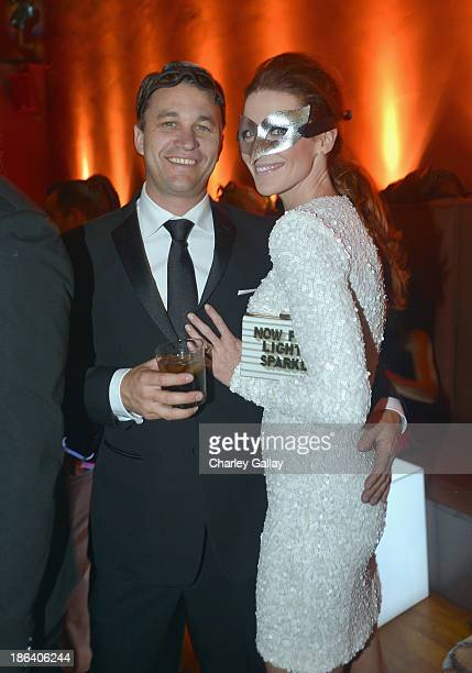 Actress Bridget Regan attends The 1st Annual UNICEF Masquerade Ball in Los Angeles at Hollywood Forever on October 30 2013 in Hollywood California