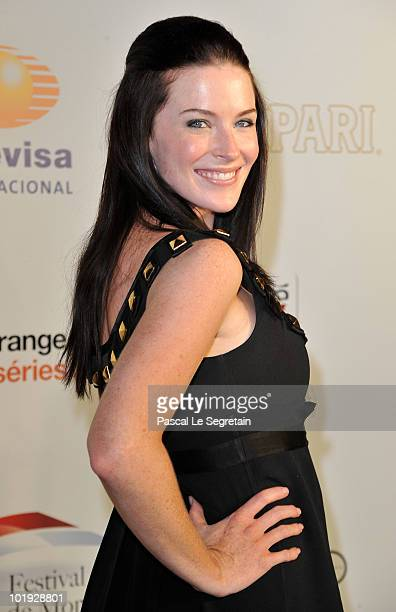 Actress Bridget Regan attends the 50th Anniversary celebration of the Monte Carlo TV Festival at MonteCarlo Bay Hotel on June 9 2010 in MonteCarlo...