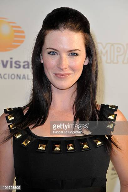 09 Actress Bridget Regan attends the 50th Anniversary celebration of the Monte Carlo TV Festival at MonteCarlo Bay Hotel on June 9 2010 in MonteCarlo...