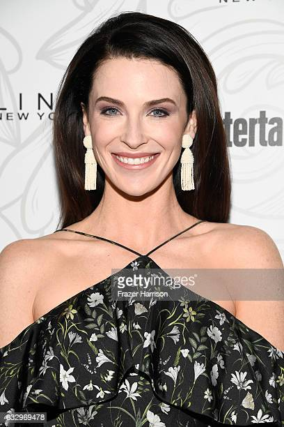 Actress Bridget Regan attends the Entertainment Weekly Celebration of SAG Award Nominees sponsored by Maybelline New York at Chateau Marmont on...