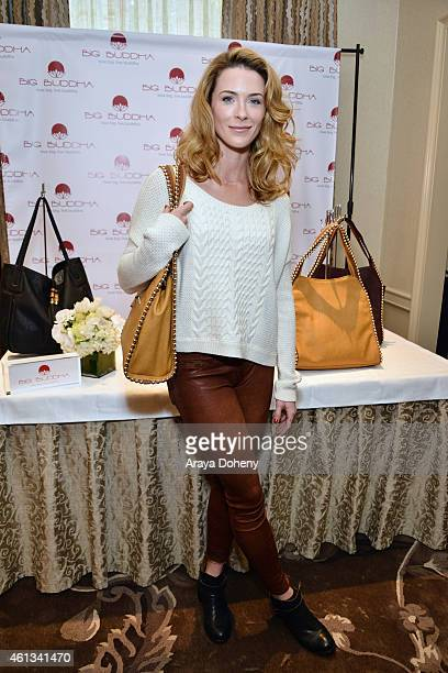 Actress Bridget Regan attends the HBO Luxury Lounge featuring PANDORA Jewelry at Four Seasons Hotel Los Angeles at Beverly Hills on January 10 2015...