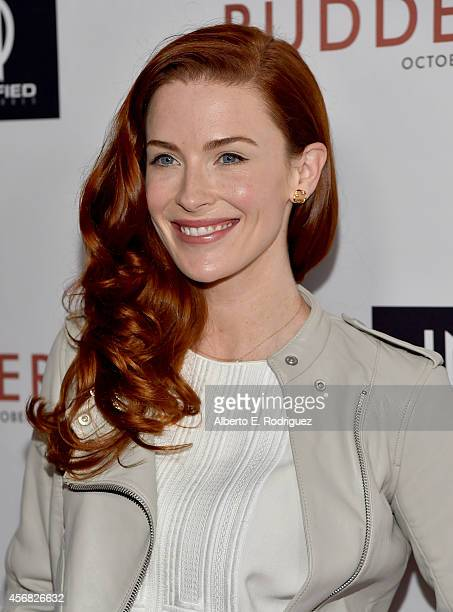 Actress Bridget Regan attends the Screening Of Samuel Goldwyn Films' Rudderless at the Vista Theatre on October 7 2014 in Los Angeles California