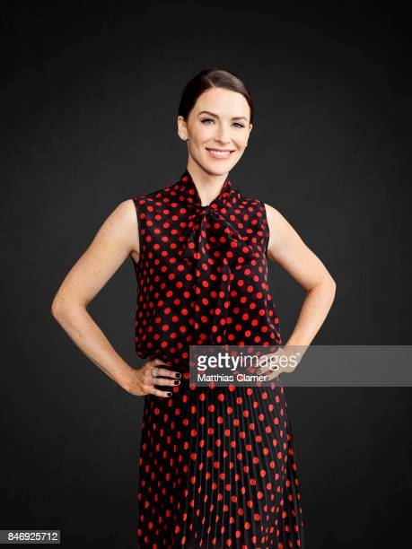 Actress Bridget Regan from 'The Last Ship' is photographed for Entertainment Weekly Magazine on July 21, 2016 at Comic Con in the Hard Rock Hotel in...