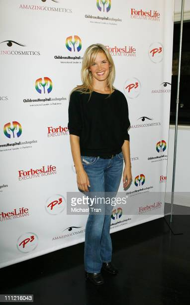 Actress Bridgette Wilson Sampras attends the Mom's Day of Beauty event at The Beverly Wilshire Hotel on September 26 2007 in Beverly Hills California