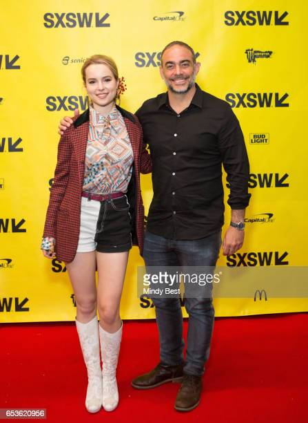 Actress Bridgit Mendler and C3's Charles Attal attend 'Digital Revolution A Look at Music's New Frontier' during 2017 SXSW Conference and Festivals...