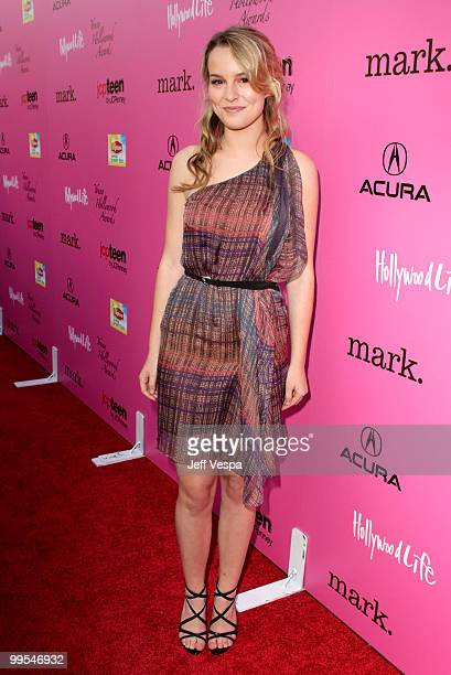 Actress Bridgit Mendler arrives at the 12th annual Young Hollywood Awards sponsored by JC Penney Mark Lipton Sparkling Green Tea held at the Ebell of...