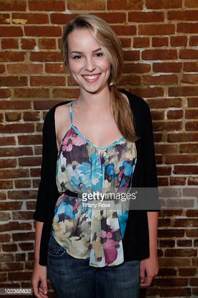 """Actress Bridgit Mendler attends the """"Miss Behave"""" Premiere & Launch Party at Cinespace on June 23, 2010 in Hollywood, California."""