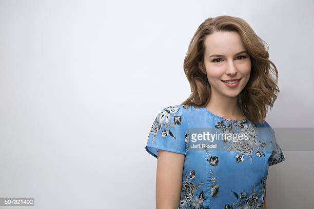 Actress Bridgit Mendler is photographed for TV Guide Magazine on January 16 2015 in Pasadena California
