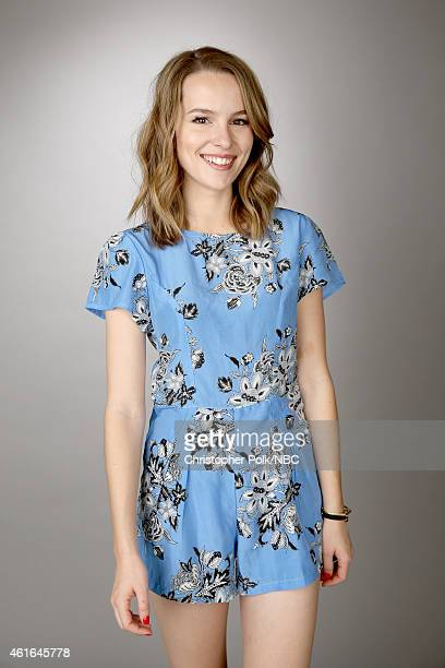 Actress Bridgit Mendler of Undateable poses for a portrait during the NBCUniversal TCA Press Tour at The Langham Huntington Pasadena on January 16...