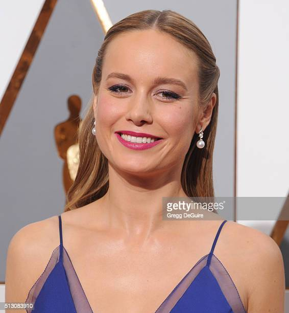 Actress Brie Larson arrives at the 88th Annual Academy Awards at Hollywood Highland Center on February 28 2016 in Hollywood California