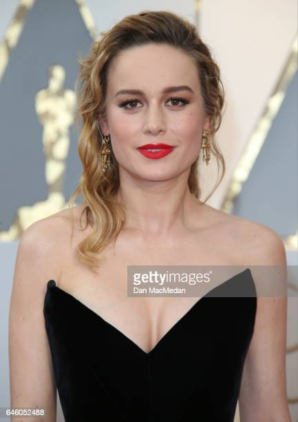 Actress Brie Larson arrives at the 89th Annual Academy Awards at Hollywood Highland Center on February 26 2017 in Hollywood California